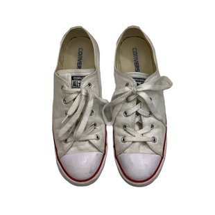 Primary Photo - BRAND: CONVERSE STYLE: SHOES ATHLETIC COLOR: WHITE SIZE: 10 OTHER INFO: AS IS SKU: 208-208142-10646