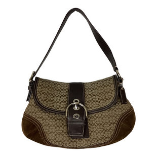 Primary Photo - BRAND: COACH O STYLE: HANDBAG DESIGNER COLOR: BROWN SIZE: SMALL OTHER INFO: AS IS SKU: 208-208142-10566