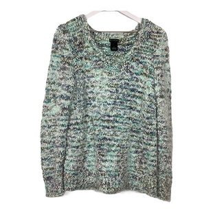 Primary Photo - BRAND: NEW DIRECTIONS STYLE: SWEATER LIGHTWEIGHT COLOR: BLUE GREEN SIZE: L SKU: 208-208131-25436