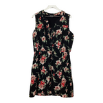 Primary Photo - BRAND: NICOLE MILLER <BR>STYLE: DRESS SHORT SLEEVELESS <BR>COLOR: FLORAL <BR>SIZE: L <BR>SKU: 208-20831-72441