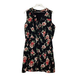 Primary Photo - BRAND: NICOLE MILLER STYLE: DRESS SHORT SLEEVELESS COLOR: FLORAL SIZE: L SKU: 208-20831-72441