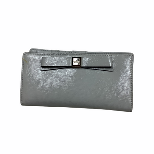 Primary Photo - BRAND: KATE SPADE STYLE: WALLET COLOR: GREY SIZE: MEDIUM OTHER INFO: AS IS - WEAR SKU: 208-208142-9705