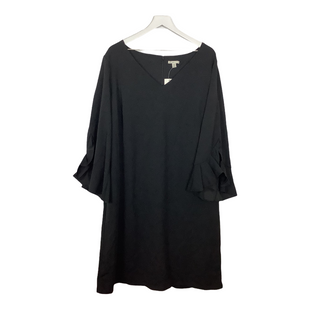 Primary Photo - BRAND: CATO STYLE: DRESS SHORT LONG SLEEVE COLOR: BLACK SIZE: 3X SKU: 208-208165-1509