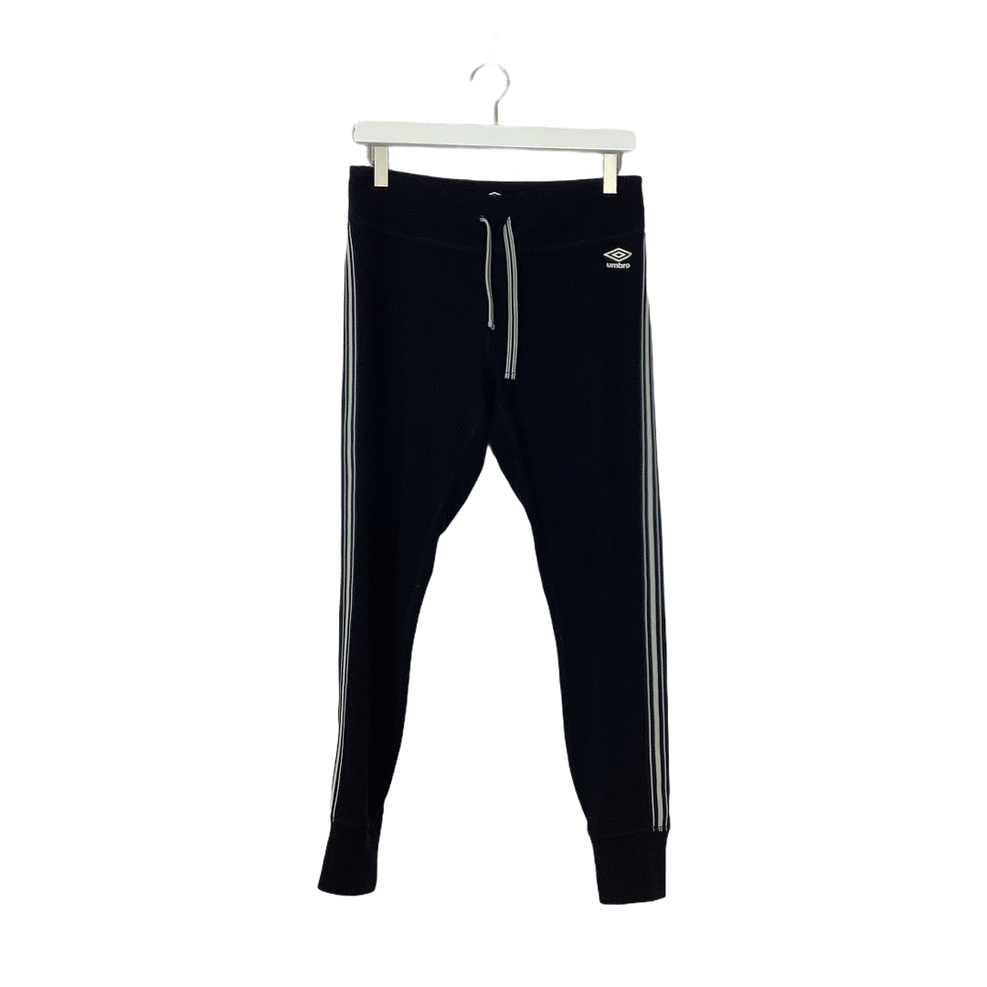 Primary Photo - BRAND: UMBRO <BR>STYLE: ATHLETIC PANTS <BR>COLOR: BLACK WHITE <BR>SIZE: L <BR>OTHER INFO: AS IS-SLIGHT WEAR <BR>SKU: 208-208131-25708