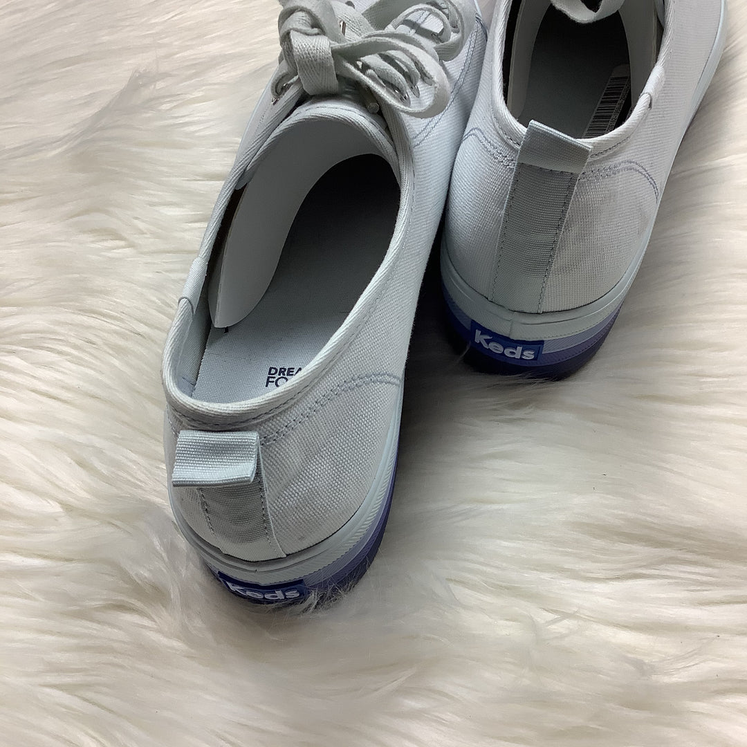 Photo #4 - BRAND: KEDS <BR>STYLE: SHOES ATHLETIC <BR>COLOR: PERIWINKLE <BR>SIZE: 10 <BR>SKU: 208-208162-1958<BR>AS IS
