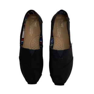 Primary Photo - BRAND: TOMS STYLE: SHOES FLATS COLOR: BLACK SIZE: 6.5 SKU: 208-208142-9876