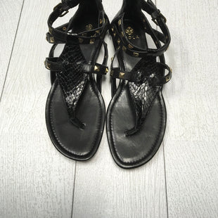 Primary Photo - BRAND: ISOLA STYLE: SANDALS FLAT COLOR: BLACK SIZE: 8.5 SKU: 208-208126-8643