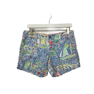 Primary Photo - BRAND: LILLY PULITZER STYLE: SHORTS COLOR: BLUE SIZE: 4 SKU: 208-208142-14496AS IS