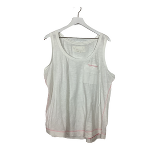 Primary Photo - BRAND: ANTHROPOLOGIE STYLE: TOP SLEEVELESS COLOR: WHITE SIZE: XL OTHER INFO: AS IS SKU: 208-208142-13333