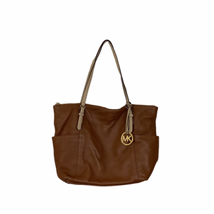 Primary Photo - BRAND: MICHAEL KORS STYLE: HANDBAG DESIGNER COLOR: BROWN SIZE: LARGE OTHER INFO: AS IS - WEAR SKU: 208-208142-10343