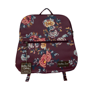 Primary Photo - BRAND: MATILDA JANE STYLE: BACKPACK COLOR: FLORAL SIZE: MEDIUM SKU: 208-208131-25273