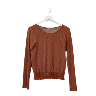 Primary Photo - BRAND: SIENNA SKY STYLE: TOP LONG SLEEVE COLOR: ORANGE SIZE: S SKU: 208-20831-70968