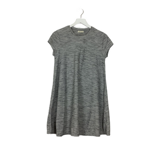 Primary Photo - BRAND: SILENCE AND NOISE STYLE: DRESS SHORT SHORT SLEEVE COLOR: GREY SIZE: M SKU: 208-208142-13508