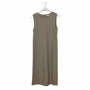 Primary Photo - BRAND: UNIQLO STYLE: DRESS SHORT SLEEVELESS COLOR: TAN SIZE: L SKU: 208-208113-29831