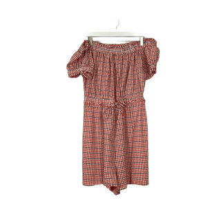 Primary Photo - BRAND: ANTHROPOLOGIE STYLE: SKIRT SUIT 2PC COLOR: GINGHAM SIZE: L SKU: 208-208163-814