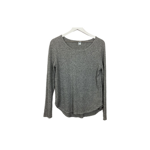 Primary Photo - BRAND: OLD NAVY STYLE: TOP LONG SLEEVE COLOR: GREY SIZE: L SKU: 208-208142-10188