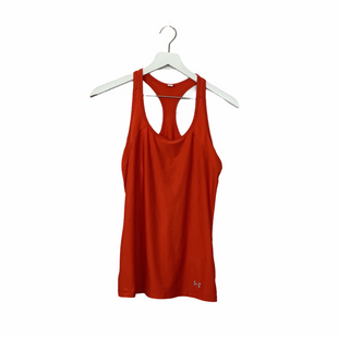 Primary Photo - BRAND: UNDER ARMOUR STYLE: ATHLETIC TANK TOP COLOR: ORANGE SIZE: S SKU: 208-208131-24421