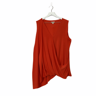Primary Photo - BRAND: CATO STYLE: TOP SLEEVELESS COLOR: ORANGE SIZE: 18 SKU: 208-208131-22902