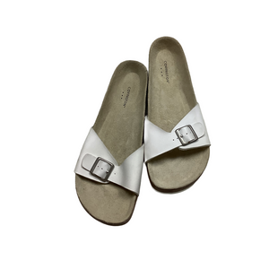 Primary Photo - BRAND: COVINGTON STYLE: SANDALS FLAT COLOR: WHITE SIZE: 11 SKU: 208-20831-70882