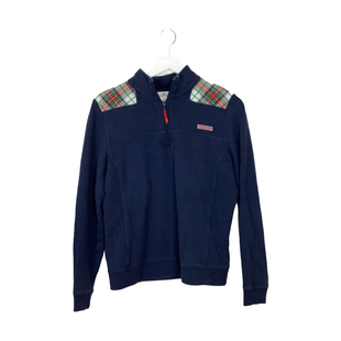 Primary Photo - BRAND: VINEYARD VINES STYLE: SWEATER HEAVYWEIGHT COLOR: NAVY SIZE: M OTHER INFO: AS IS - WEAR SKU: 208-208142-14504