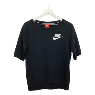 Primary Photo - BRAND: NIKE APPAREL STYLE: ATHLETIC TOP SHORT SLEEVE COLOR: BLACK SIZE: S OTHER INFO: AS ISSKU: 208-208114-36342