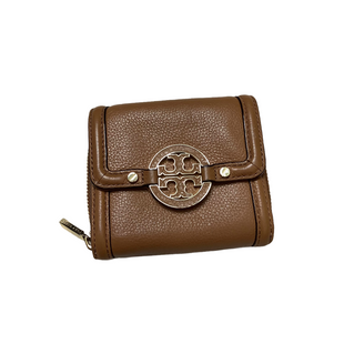 Primary Photo - BRAND: TORY BURCH STYLE: WALLET COLOR: BROWN SIZE: MEDIUM OTHER INFO: AS IS SKU: 208-20831-73015