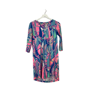 Primary Photo - BRAND: LILLY PULITZER STYLE: DRESS SHORT LONG SLEEVE COLOR: BLUE SIZE: XS SKU: 208-208142-14607AS IS