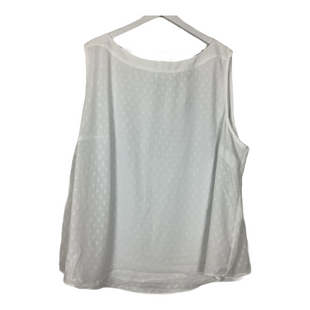 Primary Photo - BRAND: ANN TAYLOR LOFT STYLE: TOP SLEEVELESS COLOR: WHITE SIZE: 26 SKU: 208-208135-9163