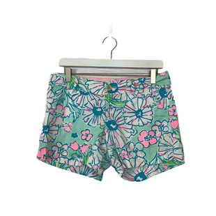 Primary Photo - BRAND: LILLY PULITZER STYLE: SHORTS COLOR: AQUA SIZE: 4 SKU: 208-208142-14498