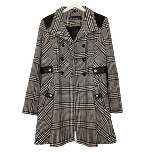 Primary Photo - BRAND: GUESS STYLE: COAT LONG COLOR: BLUE WHITE SIZE: L SKU: 208-208135-8181