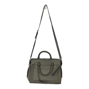 Primary Photo - BRAND: REBECCA MINKOFF STYLE: HANDBAG DESIGNER COLOR: GREY SIZE: MEDIUM OTHER INFO: AS IS-WEAR SKU: 208-208163-420