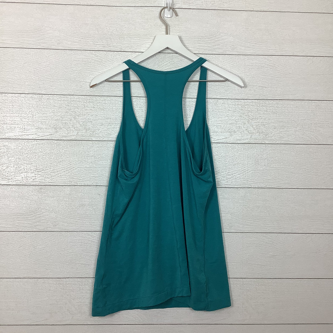 Photo #1 - BRAND: GAP <BR>STYLE: ATHLETIC TANK TOP <BR>COLOR: TEAL <BR>SIZE: L <BR>SKU: 208-208135-8691