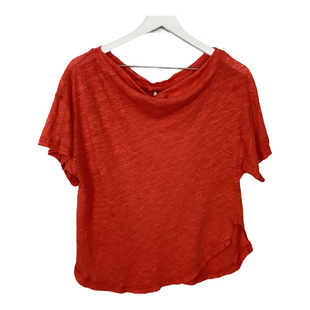 Primary Photo - BRAND: FREE PEOPLE STYLE: TOP SHORT SLEEVE COLOR: ORANGE SIZE: S OTHER INFO: AS IS SKU: 208-208142-14199