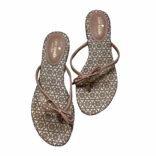 Primary Photo - BRAND: KATE SPADE STYLE: FLIP FLOPS COLOR: LIGHT PINK SIZE: 8.5 SKU: 208-208158-196AS IS