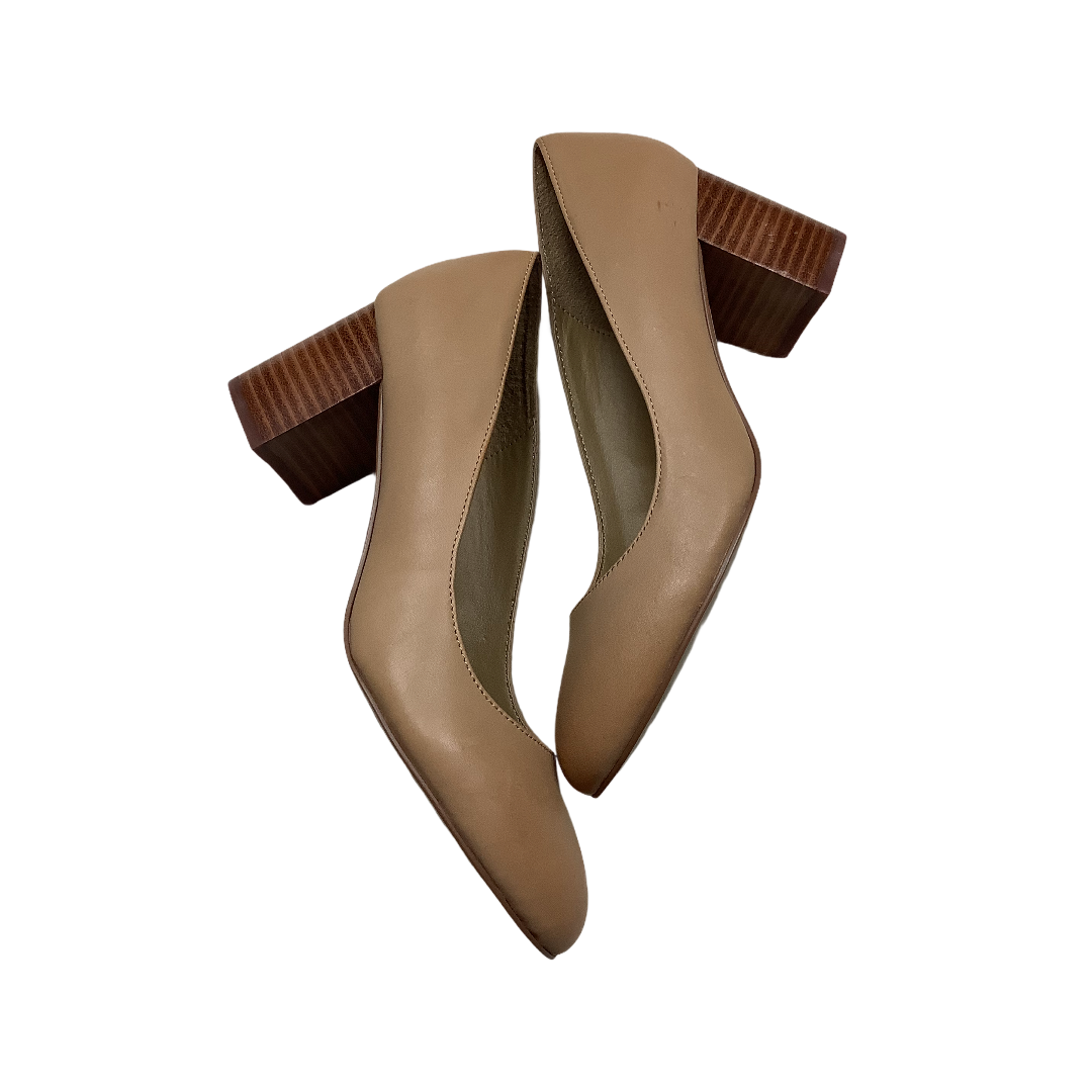 Primary Photo - BRAND: ADRIENNE VITTADINI <BR>STYLE: SHOES HIGH HEEL <BR>COLOR: TAN <BR>SIZE: 8 <BR>SKU: 208-208114-41903