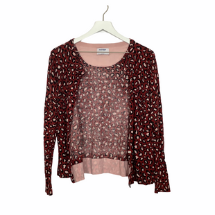 Primary Photo - BRAND: OLD NAVY STYLE: SWEATER CARDIGAN LIGHTWEIGHT COLOR: ANIMAL PRINT SIZE: L SKU: 208-208131-22735