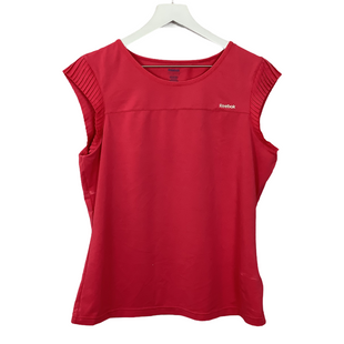 Primary Photo - BRAND: REEBOK STYLE: ATHLETIC TOP SHORT SLEEVE COLOR: PINK SIZE: L SKU: 208-208113-33207