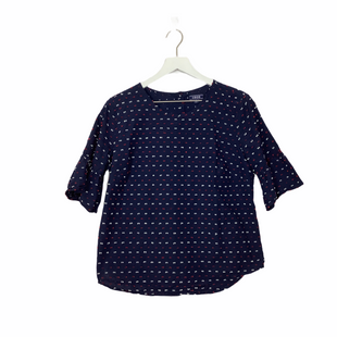 Primary Photo - BRAND: IZOD STYLE: TOP SHORT SLEEVE COLOR: NAVY SIZE: M SKU: 208-20831-70980
