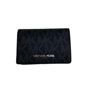 Primary Photo - BRAND: MICHAEL KORS STYLE: WALLET COLOR: BLACK SIZE: SMALL OTHER INFO: AS IS SKU: 208-208165-356