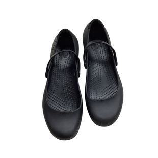 Primary Photo - BRAND: CROCS STYLE: SHOES FLATS COLOR: BLACK SIZE: 8 SKU: 208-208142-10102