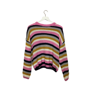 Primary Photo - BRAND: CHARLOTTE RUSSE STYLE: SWEATER LIGHTWEIGHT COLOR: STRIPED SIZE: L SKU: 208-208114-41005
