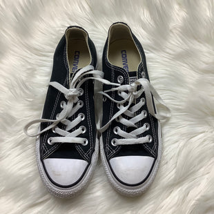 Primary Photo - BRAND: CONVERSE STYLE: SHOES ATHLETIC COLOR: BLACK WHITE SIZE: 6.5 OTHER INFO: AS IS SKU: 208-208131-21494