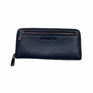 Primary Photo - BRAND: MICHAEL KORS STYLE: WALLET COLOR: NAVY SIZE: MEDIUM OTHER INFO: AS IS - WEAR SKU: 208-208142-9658