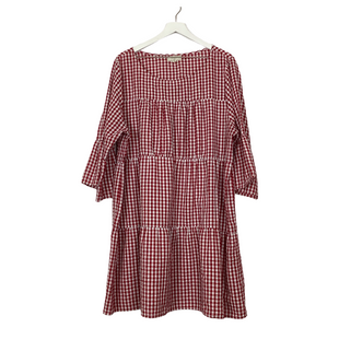 Primary Photo - BRAND: NO COMMENT STYLE: DRESS SHORT LONG SLEEVE COLOR: PLAID SIZE: 3X SKU: 208-208162-1595AS IS - PILLING