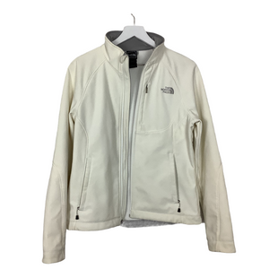 Primary Photo - BRAND: NORTHFACE STYLE: JACKET OUTDOOR COLOR: WHITE SIZE: M OTHER INFO: AS IS - WEAR SKU: 208-208142-10426