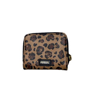Primary Photo - BRAND: FOSSIL STYLE: WALLET COLOR: ANIMAL PRINT SIZE: SMALL OTHER INFO: AS IS WEAR AND ODOR SKU: 208-20831-73265