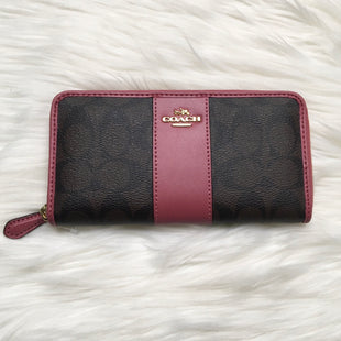 Primary Photo - BRAND: COACH STYLE: WALLET COLOR: MAUVE SIZE: SMALL SKU: 208-208131-16531