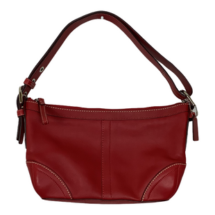 Primary Photo - BRAND: COACH STYLE: HANDBAG DESIGNER COLOR: RED SIZE: SMALL SKU: 208-208142-10567
