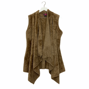 Primary Photo - BRAND: SAY WHAT STYLE: VEST COLOR: TAN SIZE: L SKU: 208-208114-40125