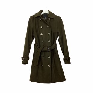 Primary Photo - BRAND: FOREVER 21 STYLE: COAT LONG COLOR: OLIVE SIZE: M SKU: 208-208162-716